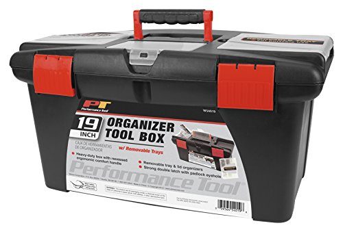 Performance Tool W54019 Plastic Tool Box, 19