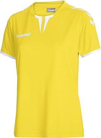 hummel Camiseta de Manga Corta para Mujer Core Jersey Amarillo ...