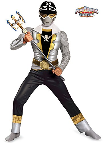 Disguise Saban Super MegaForce Power Rangers Classic Muscle