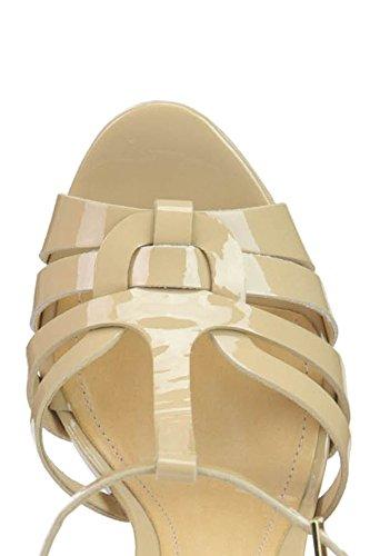 SCHUTZ Sandalias de Vestir de Charol Para Mujer Beige Beige