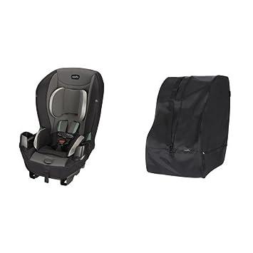 Evenflo Sonus Convertible Car Seat City Lights With Travel Storage Bag