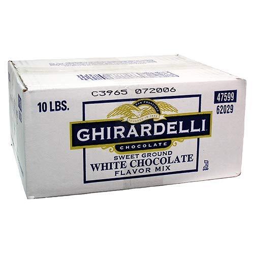 Ghirardelli White Chocolate Sweet Ground Powder 10 -