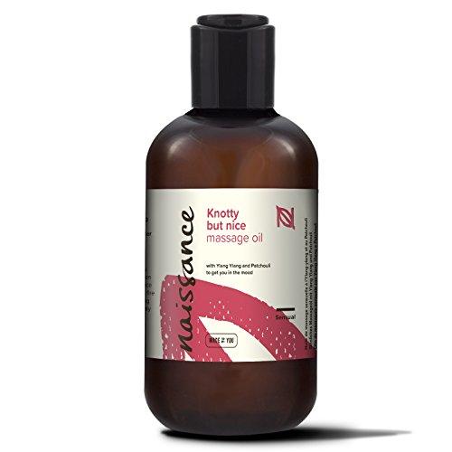 Naissance 'Knotty But Nice' Sensual & Aphrodisiac Massage Oil 250ml, 100%...