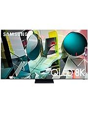 SAMSUNG 85-Inch Class QLED Q950T Series - 8K UHD Direct Full Array Quantum HDR 32X Smart TV with Alexa Built-in (QN85Q950TSFXZA)