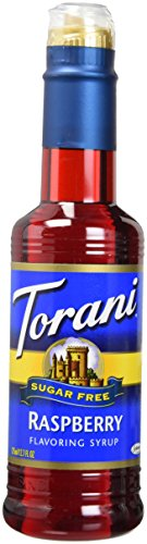 Raspberry Chocolate Tea - Torani Sugar Free Raspberry Syrup 12.7 ounce