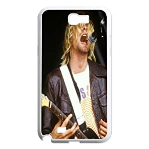 T-TGL(RQ) Personalized Kurt Cobain Pattern Protective Hard Case for Samsung Galaxy Note 2 N7100