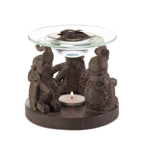 Elephant Oil Warmer ,Ceramic Elephant Oil Warmer , Ceramic Essential Oil Diffuser