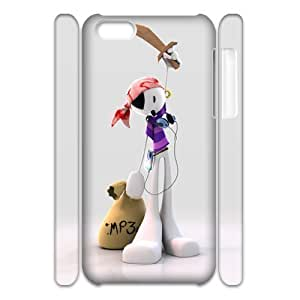 3D 3d puppet wallpaper For SamSung Galaxy S3 Phone Case Cover White