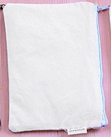Estuches para lápices de tamaño grande y simple, para bricolaje, manualidades, tela, estuche para lápices, decoración, suministros de pintura, color azul: Amazon.es: Oficina y papelería