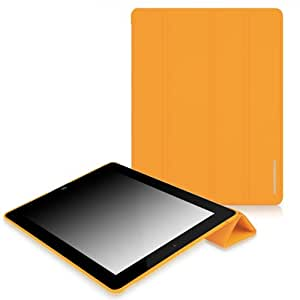 CaseCrown Omni Cover Case for iPad 4th Generation with Retina Display, iPad 3 and iPad 2 - Orange