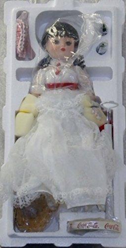 - Madame Alexander Danbury Mint Coca Cola Carhop 13 inch Porcelain Doll