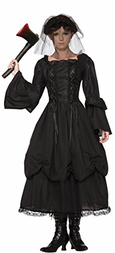 Forum Women's Miss Lizzie Costume Dress Veil Axe