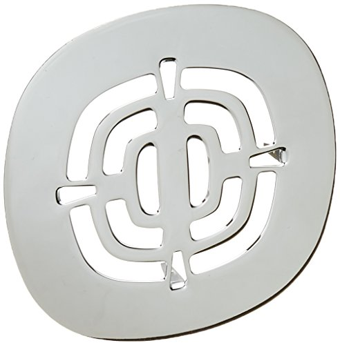 Westbrass Brass Snap-In Shower Strainer Grid, Polished Chrome, D316-26 - Grid Shower Drain Cover