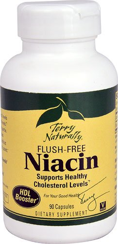 Terry Naturally Flush-Free Niacin -- 90 Capsules - 3PC by Terry Naturally
