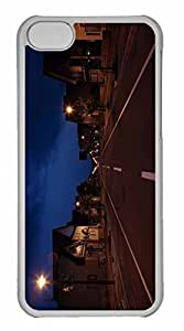 iPhone 5C Case, Personalized Custom Street City for iPhone 5C PC Clear Case