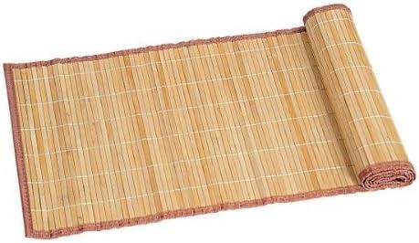 Kesper camino de mesa, claro, mantel Estrecho, de bambú, tamaño ...