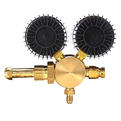 SPARC Nitrogen Regulator 0-600PSI CGA580 Inlet, 1/4
