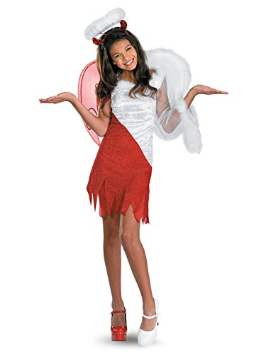 Sassy Scene Heavenly Devil Deluxe Tween Costume, X-Large (14-16) ()