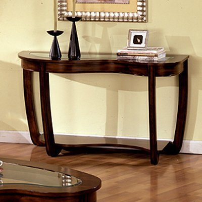 247SHOPATHOME IDF-4336S, Sofa Table, Cherry