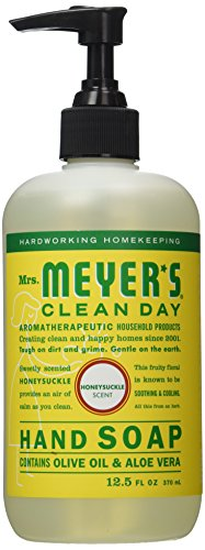 Mrs. Meyers Clean Day Liquid Hand Soap, Honeysuckle, 12.50 oz