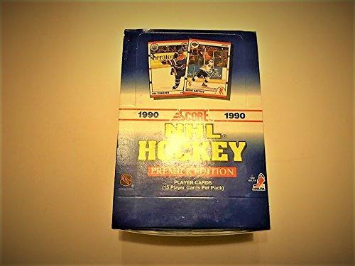 (1990-91 Score Hockey Card Wax Box Sealed Wayne Gretzky On The Cover)