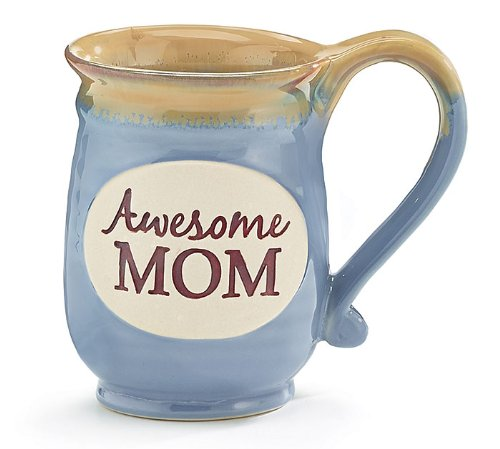Awesome Mom Porcelain Blue Coffee product image