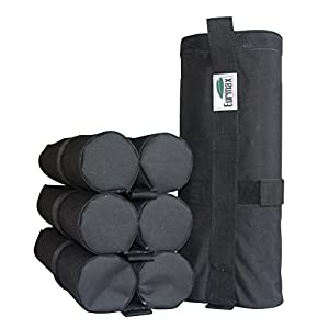 Eurmax Weight Bags for Pop up Canopy Outdoor Shelter, Heavy duty Instant Leg Canopy Weights, Sand Bags, Set of 4 from Eurmax Inc