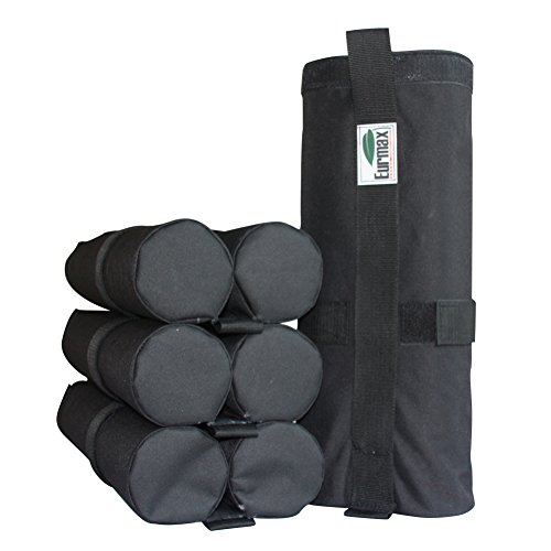 Eurmax Weight Bags for Pop up Canopy Outdoor Shelter, Heavy duty Instant Leg Canopy Weights, Sand Bags, Set of 4