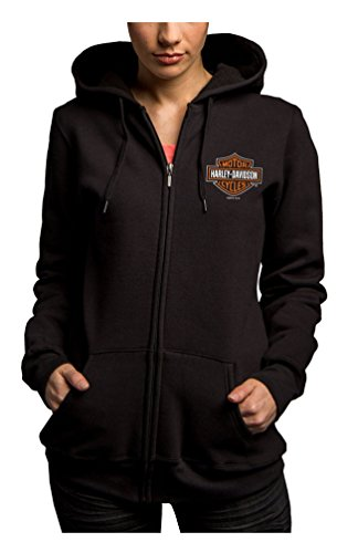 Harley Davidson Womens Full Zip Fleece 5M38 HB48
