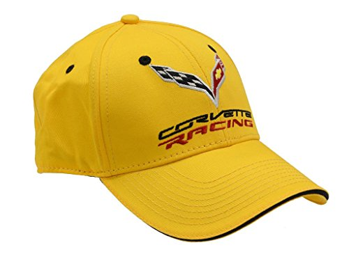 (C7 Corvette Racing Yellow Sandwich Bill Hat)