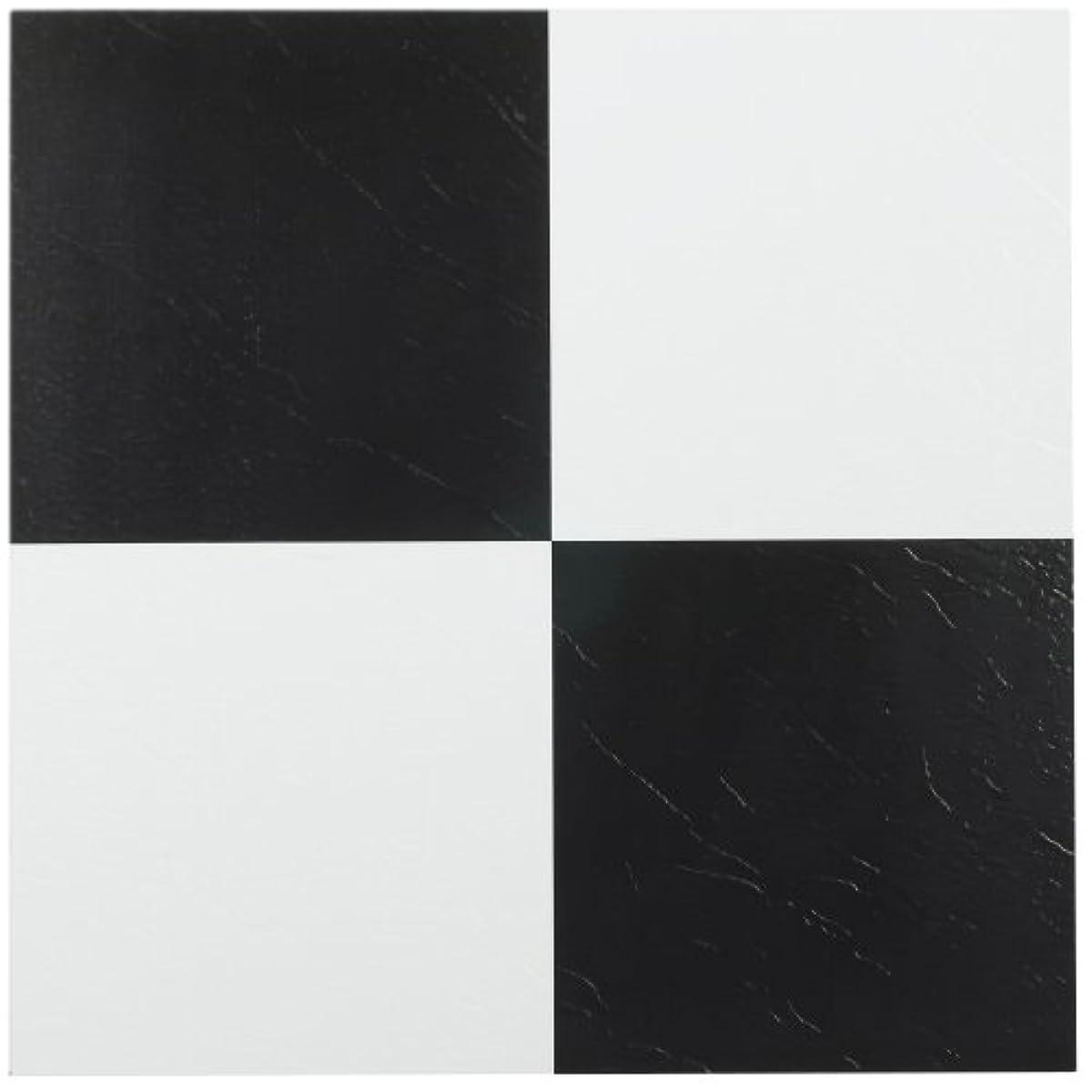 Black And White Vinyl Tiles Peel And Stick Floor Self