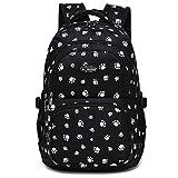 Goldwheat Kids Girls School Backpack Water-resistant Schoolbag Bookbag Outdoor Travel Bags