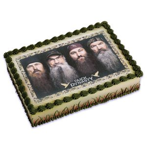 Amazoncom Duck Dynasty Edible Cake Topper Toys Games