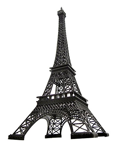 Homeford FNS007007BLK Tall Giant Paris France Eiffel Tower Stand, 24
