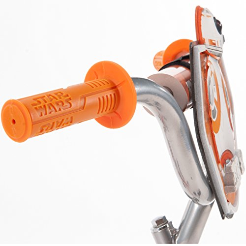 Huffy 12 Star Wars Boys' Bike, Orange/White