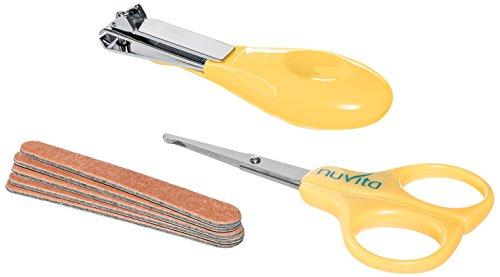 Nuvita 1133 Baby Nagelpflege-Set, gelb