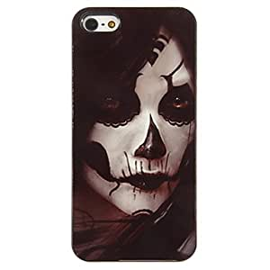 NEW Scary Woman Ghost Pattern PC Hard Case with 3 Packed HD Screen Protectors for iPhone 5/5S