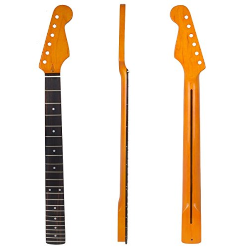 mira-tech-electric-guitar-neck-for-fender-strat-replacement-22-fret-maple-rosewood-fretboard