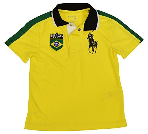 Polo Ralph Lauren Little Boys' Big Pony Brazil Polo Shirt - 2/2T - - Ralph Lauren Brazil