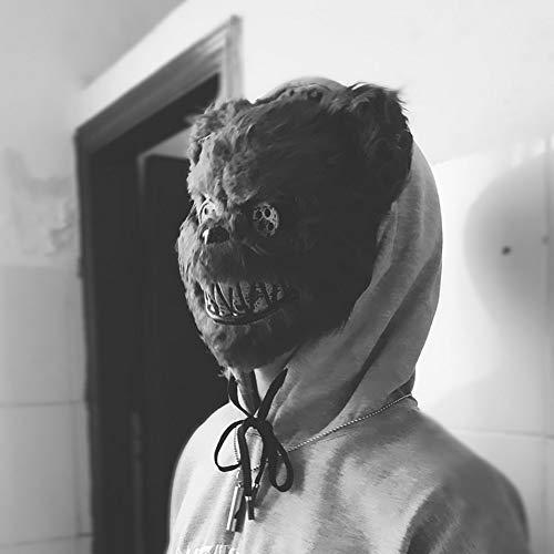 Bloody Killer Rabbit mask Plush Cosplay Halloween Horror
