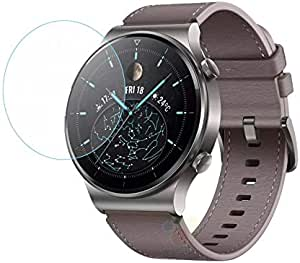 Dado Huawei GT2 PRO Smart watch screen protector tempered glasS, Full Display Screen Protector Cover