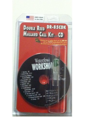 Double Reed Mallard Duck Call Kit w CD ~ Waterfowl Hunting ~ DR-85CDK Haydel Game Calls