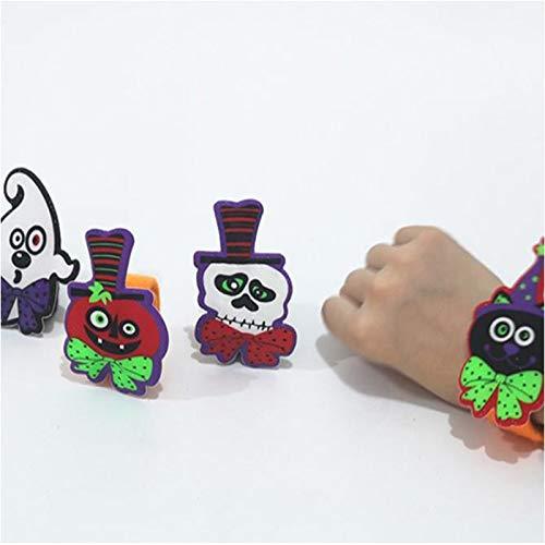 Aquatx Light Up Bracelets LED Flashing Light Glow Bracelet Light Up Wristband Halloween Party Bar Luminous Bracelet Luminous Toys for Children by Aquatx