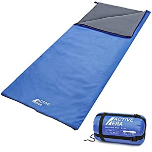 Active Era Ultra Lightweight Sleeping Bag Perfect For Warm Weather Sleepovers Fishing Outdoor Camping And Hiking In The Summer Months