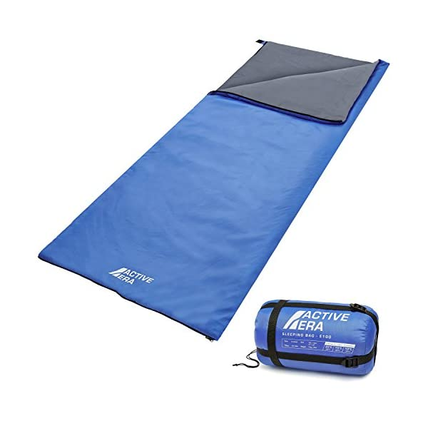 Active Era Ultra Lightweight Sleeping Bag - Perfect for Warm Weather, Sleepovers, Fishing, Outdoor Camping and Hiking in The Summer Months 3