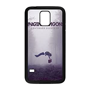 Imagine Dragons Continued Silence Samsung Galaxy S5 Cell Phone Case Black 218y-087938