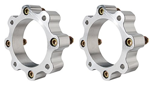 Honda ATV TRX 450R, 400EX 700XX 4/144 Front Wheel Spacers (adds 3 inches of width)
