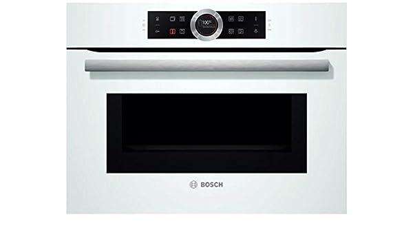 Bosch CMG633BW1 - Horno (Medio, Horno eléctrico, 45 L, 45 L, Blanco, Tocar): Amazon.es: sotel-es