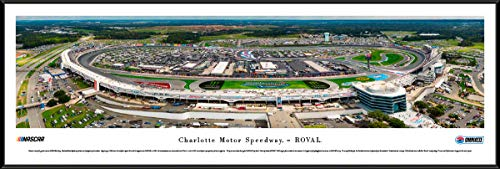 Charlotte Motor Speedway - ROVAL - Standard Framed NASCAR Print by Blakeway Panoramas
