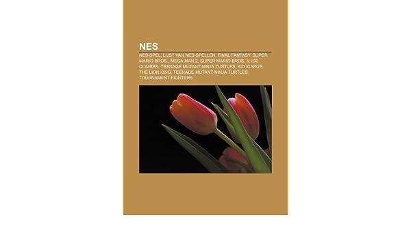 NES: NES-spel, Lijst van NES-spellen, Final Fantasy, Super ...